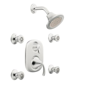 Moen Icon™ Vertical Spa Trim with Volume Control and Body Spray MTS283