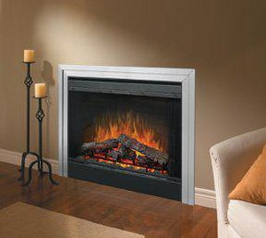 Dimplex North America 39 in. Electric Fireplace with Air Treatment System 9220 BTU DBF39DXP