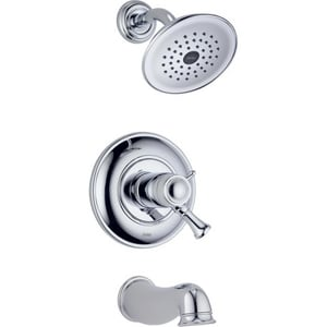 Delta Faucet Lockwood™ 2.5 gpm Tub and Shower Trim Kit with Single Lever Handle (Trim Only) DT17T440