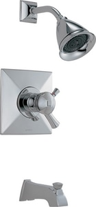 Brizo Vesi® Thermostatic Tub and Shower Faucet Trim (Trim Only) DT60440