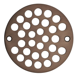 Tile Shower Drain in Oil Rubbed Bronze I69698
