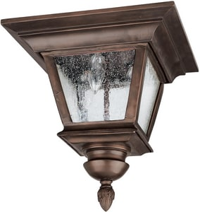 Capital Lighting Fixture Brookwood 60W 3-Light Outdoor Ceiling Fixture C9968
