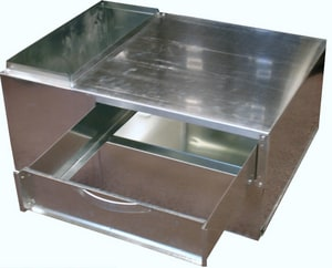 Snappy 15 in. Support Box with Filter & Drawer SNASBFD30