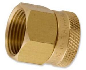 Aqualine 3/4 in. FHT x FIP Brass Swivel Adapter AQUHPF12