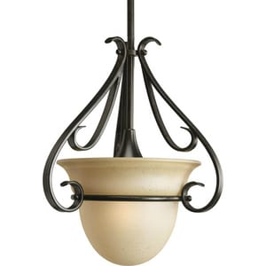 Progress Lighting Torino 13-1/8 in. 100W 1-Light Medium Pendant PP514477