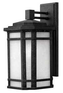 Hinkley Lighting 75 W 1-Light Medium Sconce in Vintage Black H1274VK