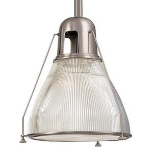 Hudson Valley Lighting Haverhill 100W 1-Light Medium Pendant in Satin Nickel HUD7308SN
