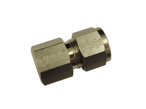 Tylok 1/4 x 3/8 in. Stainless Steel OD x FPT Connector Double TSS4DFC6