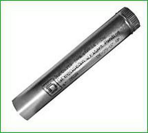 Greenseam Industries 26 ga Galvanized Factory Sealed Snap Pipe G24SPBGGA26