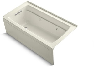 Kohler Archer® 59-3/4 x 31-1/4in. Tub and Shower with Right Hand Drain K1122-LA