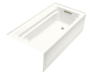 Kohler Archer® 59-3/4 x 33 in. Tub and Shower with Right Hand Drain K1124-GRA
