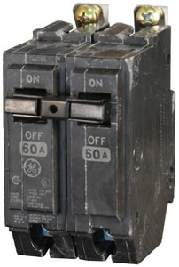 GE Industrial Systems 2-3/8 in. 120/240V 2-Pole Circuit Breaker GTHQB21