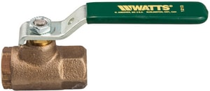 Watts Durafill ® 600 psi 2-Piece Female Threaded Bronze Ball Valve WB6000