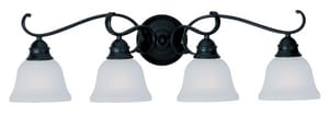 Maxim Lighting International 100W 4-Light Vanity Bath Wall Light M11811IC