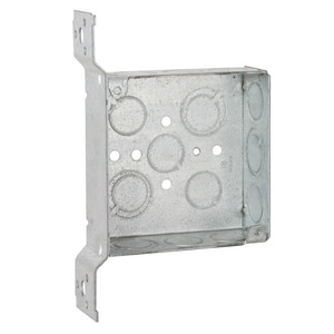 Raco 2-1/8 in. Metallic Welded Square Box R196