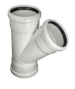 GPK Gasket Straight SDR 35 PVC Sewer Wye G10