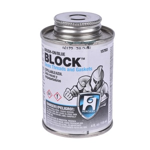 Hercules Chemical Block™ 1/4 pt Sealant in Blue H15703