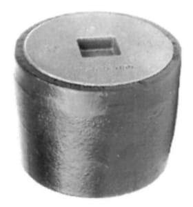 Josam Company No-Hub Cast Iron Ferrule with Plug J5890Z