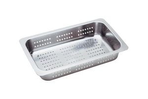 Blanco America 17 in. Colander in Polished Chrome and Nickel B514015