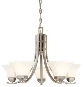 Minka Agilis™ 100 W 5-Light Chandelier M1815