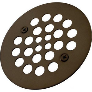 Monogram Brass 4- 1/4 in. Diameter Screw- In Tub/ Shower Drain Cover with 304 Stainless Steel MB132967