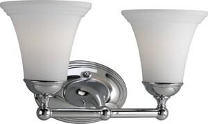 Progress Lighting Milia 8-1/8 in. 100W 2-Light Bath Vanity Fixture PP2780