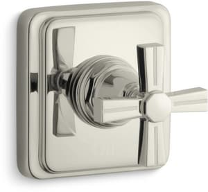 Kohler Pinstripe® Volume Control Valve Trim with Single Cross Handle KT13174-3B