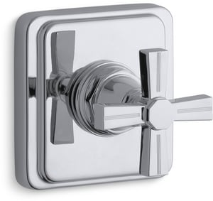Kohler Pinstripe® Valve Trim with Cross Handle for Transfer Valve requires Valve KT13175-3B