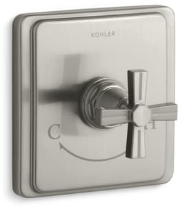 Kohler Pinstripe® Thermostat Valve Trim KT13173-3B