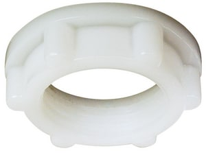 Sioux Chief Plastic Shank Nut White S696PN