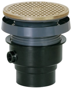 Sioux Chief Finish Line™ ABS Cleanout with Nickel Ring & Strainer S834ANR