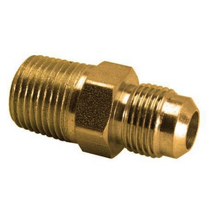 Brass Craft 7/8 x 3/4 in. OD Brass Union BAU21412
