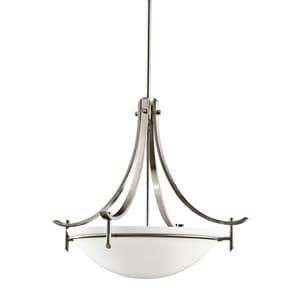 Kichler Lighting Olympia™ 150W 3-Light Medium Inverted Pendant Light KK3278
