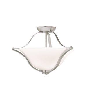 Kichler Lighting Langford™ 100W 2-Light Medium Base Incandescent Ceiling Light KK3681