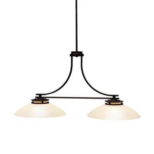 Kichler Lighting Hendrik™ 100W 2-Light Medium Island Light KK3875