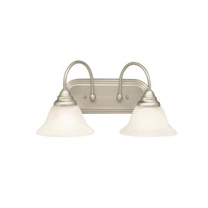 Kichler Lighting Telford™ 9 in. 100 W 2-Light Medium Bath KK5992