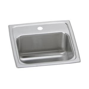 Elkay Gourmet Celebrity® 15 X 15 In. Single Bowl Top Mount Bar Sink EBCR15