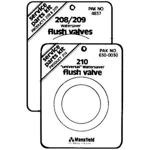 Mansfield Plumbing Products Watersaver Flush Valve Service Pack M6304837