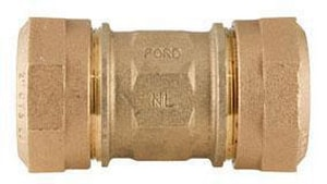 Ford Meter Box Quick Joint Brass Coupling FC44QNL