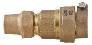 Ford Meter Box Pack Joint x Flared Copper Brass Straight Coupling FQ22NL