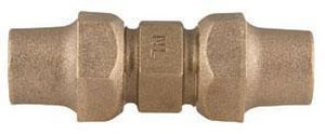 Ford Meter Box Flared Brass Reducing Coupling FC2213NL