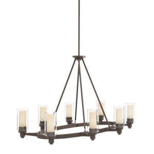 Kichler Lighting Circolo™ 60 W 8-Light Chandelier in Olde Bronze KK2345OZ