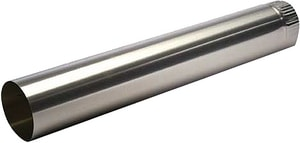 Royal Metal Products 3 ft. 26 ga Carbon Steel Pipe R1013626