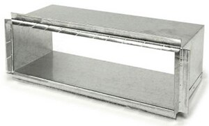 Royal Metal Products 8 in. 26 ga Rectangle Collar R4068