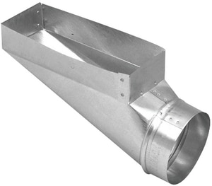 Royal Metal Products 4 x 10 in. End Register Boot R244410