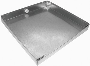 Royal Metal Products 30 in. Drain Pan 24 GA R30230