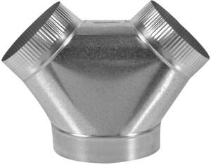 Royal Metal Products 8 x 6 x 6 in. Bullhead Wye R272866