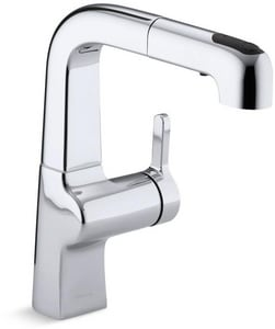 Kohler Evoke™ 1-Hole Bar Sink Faucet with Single Lever Handle K6332
