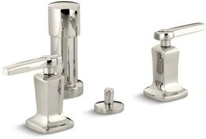 Kohler Margaux® Vertical Spray Bidet Faucet with Double Lever Handle K16238-4