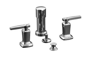 Kohler Margaux™ Vertical Spray Bidet Faucet with Double Lever Handle K16238-4